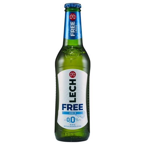 Piwo bezalkoholowe Lech Free lager, 330 ml