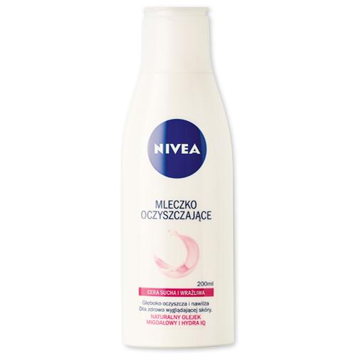 Mleczko oczyszczające do cery suchej NIVEA, 200 ml