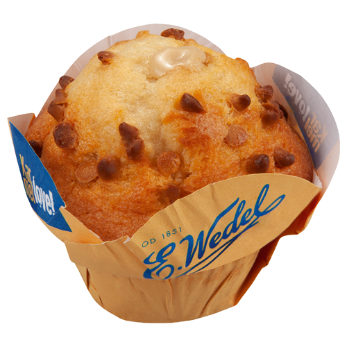 Muffin Wedel Karmellove, 100 g