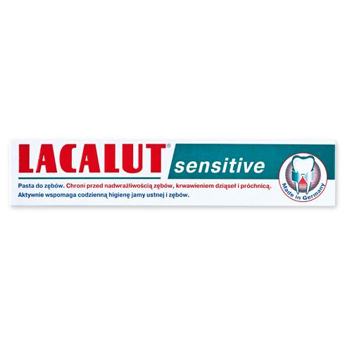 Pasta do zębów Lacalut Sensitive, 75 ml